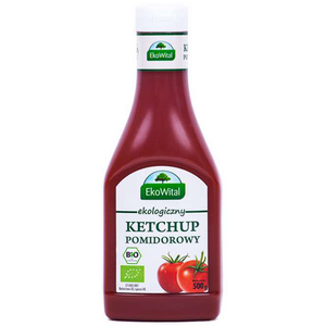 Ekowital Ekologiczny Ketchup Pomidorowy