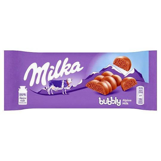 Milka Czekolada mleczna Bubbly