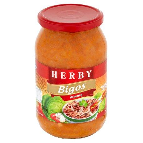 Herby - Bigos z kiełbasą i boczkiem