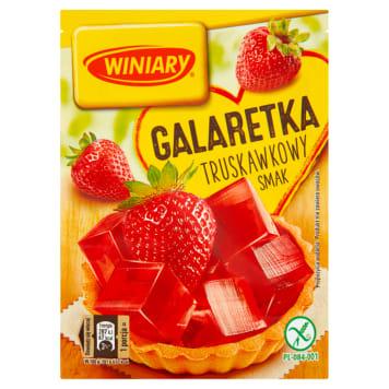 WINIARY Galaretka o smaku truskawkowym bezglutenowy