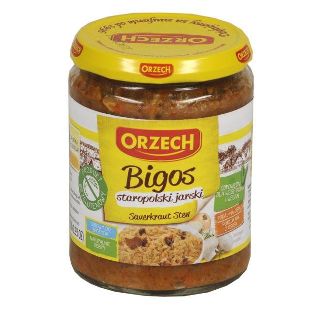 Orzech - Bigos staropolski jarski produkt bezglutenowy