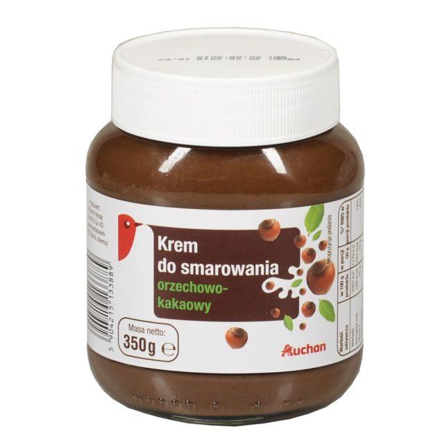 Auchan - Krem orzechowo-kakaowy do smarowania