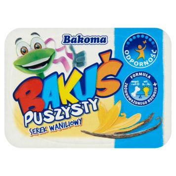 BAKOMA BAKUŚ Serek puszysty o smaku waniliowym