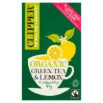 CLIPPER Herbata zielona z cytryną BIO