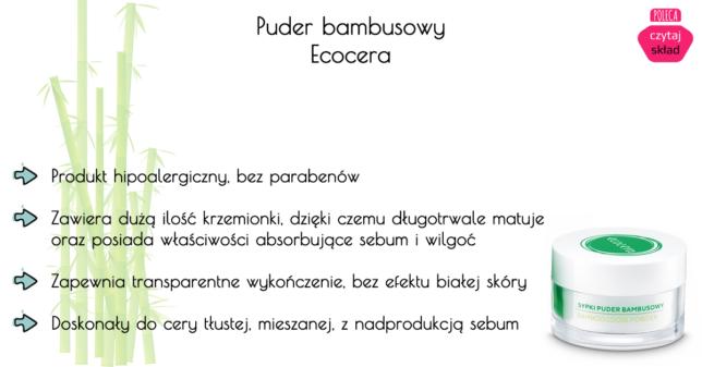 Puder bambusowy od Ecocera