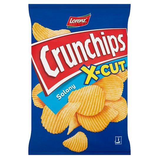 Crunchips X-Cut Chipsy ziemniaczane solone