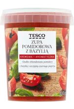 Tesco Zupa pomidorowa z bazylią