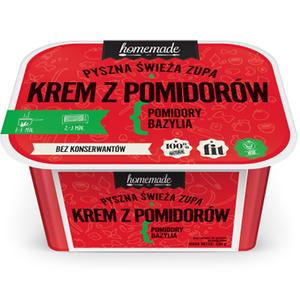 Homemade Pyszna Świeża Zupa Krem Z Pomidorów