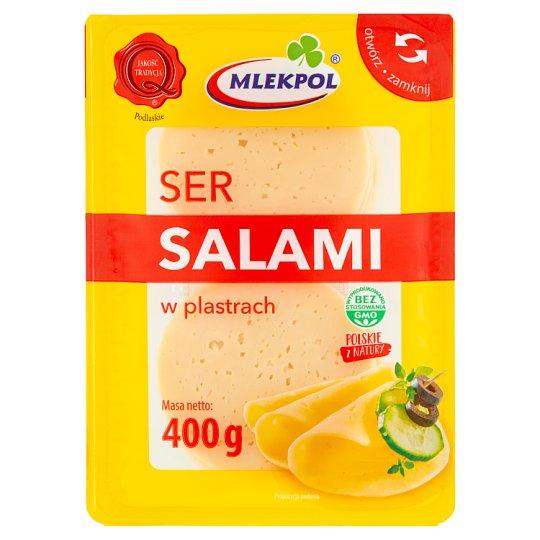 Mlekpol Ser Salami w plastrach
