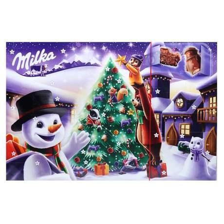 Milka - Kalendarz Adwentowy mieszanka czekoladek