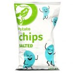 Auchan - Chipsy ziemniaczane solone