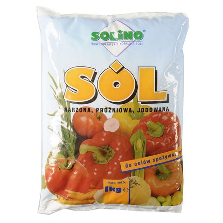 Solino - Sól spożywcza warzona, jodowana