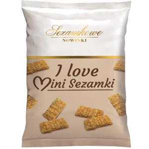 Sezamkowe Nowinki I Love Mini Sezamki