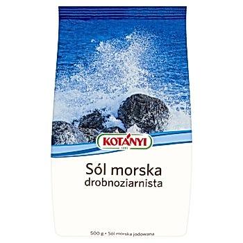Kotányi Sól morska drobnoziarnista