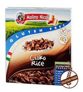MOLINO NICOLI Chrupki ryżowe czekoladowe bezglutenowe
