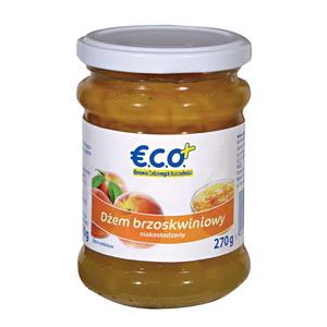 Eco+ Dżem Brzoskwiniowy Niskosłodzony