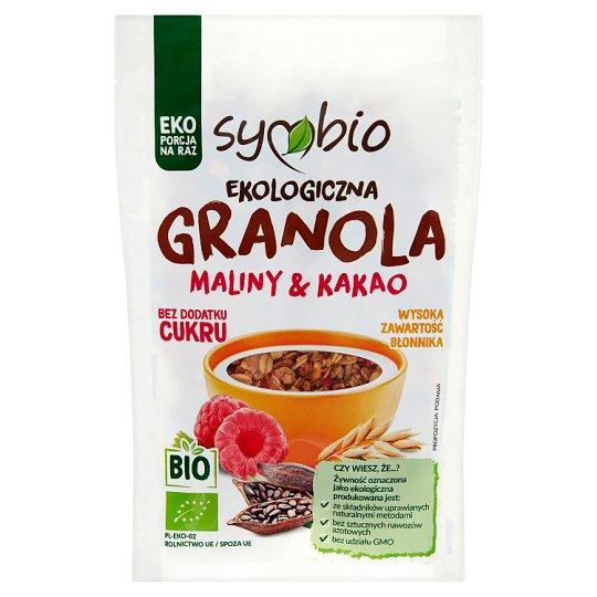 Symbio Granola maliny & kakao ekologiczna