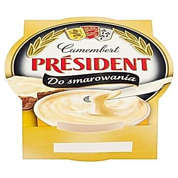 Président Ser topiony Camembert do smarowania