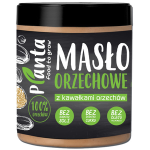 Planta Masło Orzechowe Z Kawałkami Orzechów