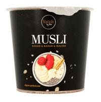 FOODS BY ANN musli, kakao & banan & malina
