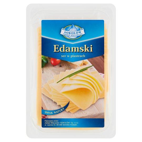 Sokołów Edamski ser w plastrach
