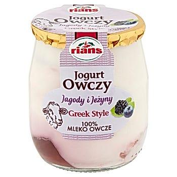 Rians Jogurt owczy jagody i jeżyny