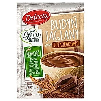 Delecta Budyń jaglany smak czekoladowy