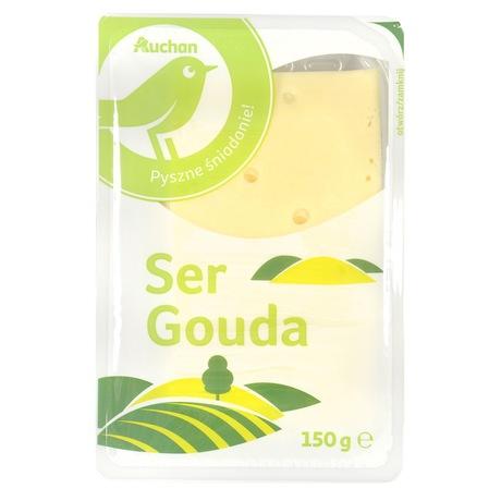 Auchan - Ser Gouda plastry