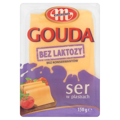 Mlekovita - Ser Gouda bez laktozy plastry
