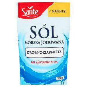 Sante Sól Morska Jodowana Drobnoziarnista