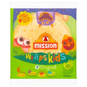 Mission Wraps Kids Original Tortilla Z Mąki Pszennej