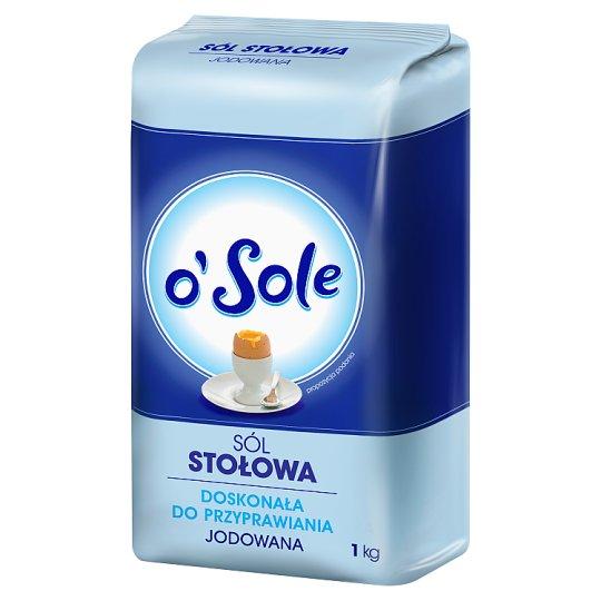 o'Sole Sól stołowa jodowana