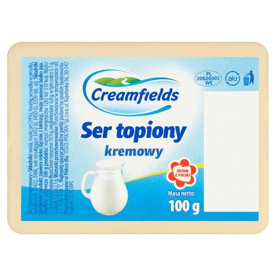 Creamfields Ser topiony kremowy