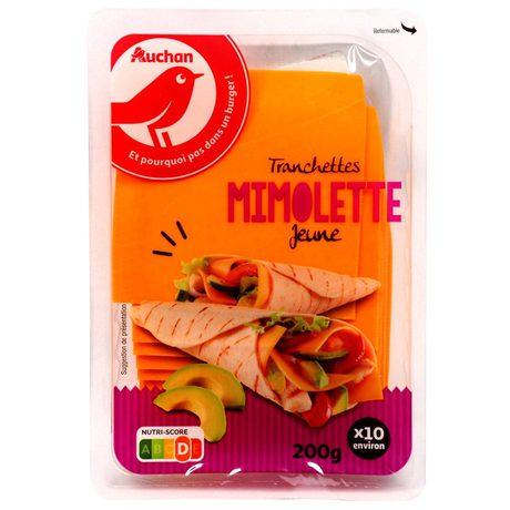 Auchan - Ser Mimolette plastry