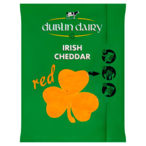 DUBLIN DAIRY Red Ser Cheddar Red plastry