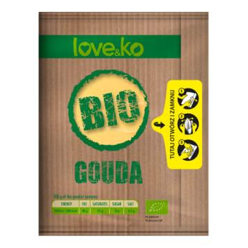 LOVE&KO Ser Gouda - plastry BIO