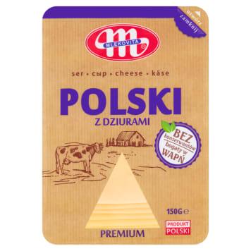 MLEKOVITA Ser Polski z dziurami plastry