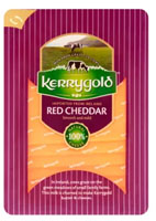 KERRYGOLD Ser cheddar Red, plastry