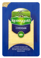 KERRYGOLD Ser cheddar White, plastry