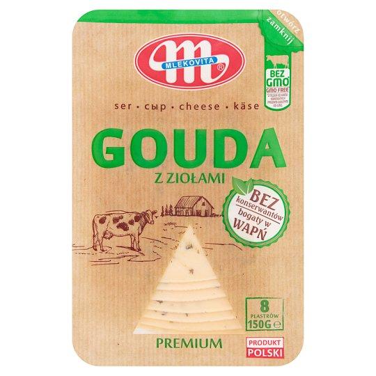 Mlekovita Ser Gouda z ziołami premium