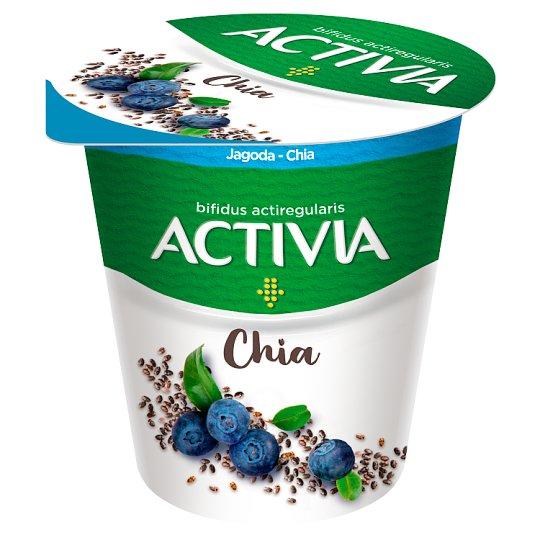 Danone Activia Jogurt jagoda - chia