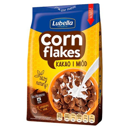 Lubella Corn Flakes Płatki kukurydziane kakao i miód