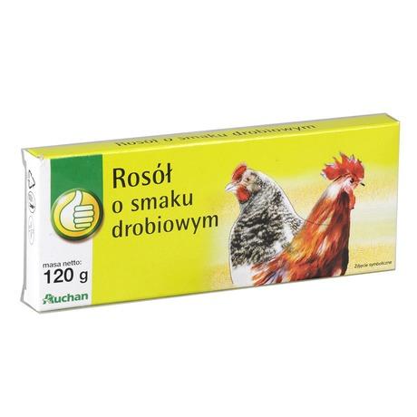 Auchan - Rosół drobiowy kostka