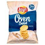 Lay's Oven Baked Pieczone formowane chipsy ziemniaczane solone