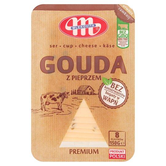 Mlekovita Ser Gouda z pieprzem premium