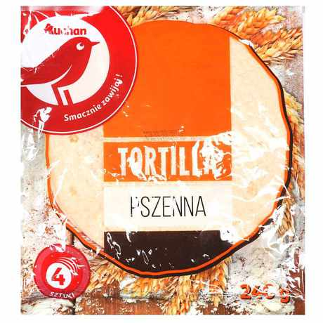 Auchan - Tortilla pszenna