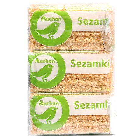 Auchan - Sezamki trójpak