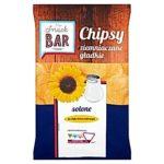 Snack Bar Chipsy ziemniaczane gładkie solone