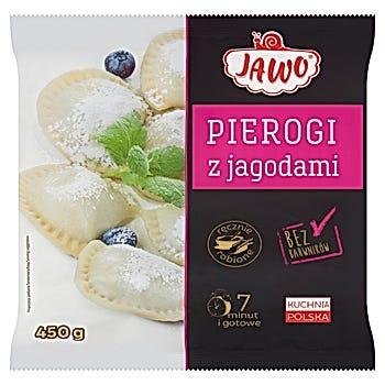 Jawo Pierogi z jagodami
