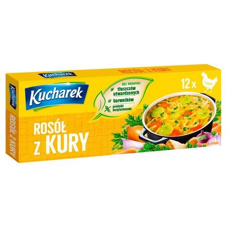 Kucharek - Rosół z kury kostka